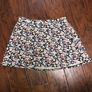 Forever 21 girls 13-14 flower skirt